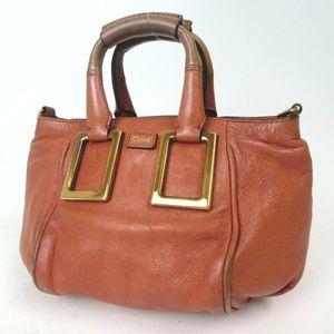 Authentic Chloe Handbag Leather[Used]